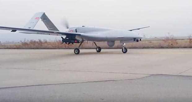 Yerli yapım insansız hava aracına milli yapım lazer güdümlü füze! (Bozok Projesi) 4