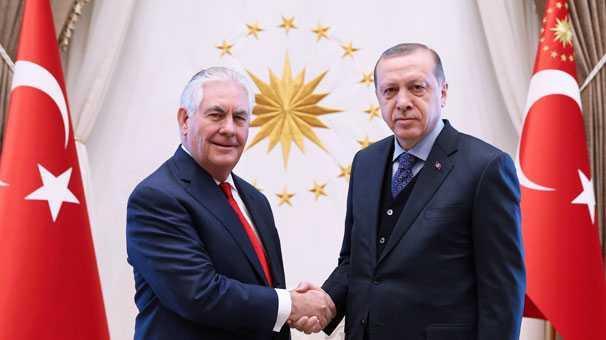 Cumhurbaşkanı+Erdoğan+-Tillerson+g%C3%B6r%C3%BCşmesi+sona+erdi