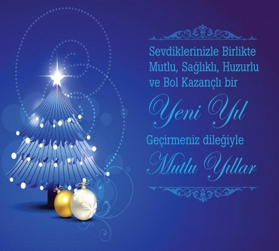 Noel ve Yeni Yıl için Hıristiyan tebrikler
