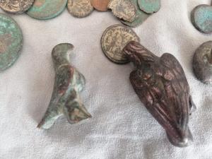 Bolu'da Roma ve Bizans dönemine ait sikke ve materyal geçirildi