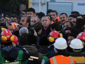 Cumhurbaşkan Erdoğan, Elazığ'da incelemelerde bulundu