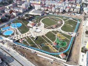 Anadolu'nun en büyük 'millet bahçesi' açılışa hazır