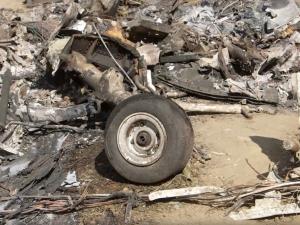 Kobe Bryant'ın helikopter kazasının enkaz görüntüleri yayınlandı
