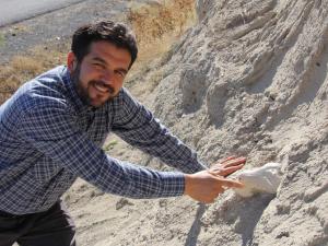 Kayseri'de bulunan fosilin, 7,5 milyon yıl önce yaşamış bir file ait olduğu anlaşıldı