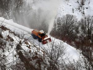 Kar savaşçıları'nın Ilgaz ve Küre dağlarında kar mücadelesi