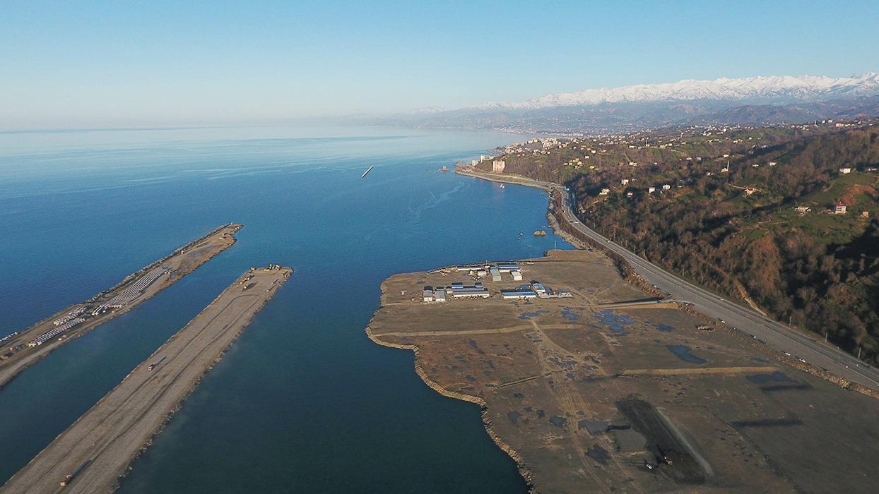 Temelini Başkan Erdoğan atmıştı...Rize-Artvin Havalimanı'nda sona doğru
