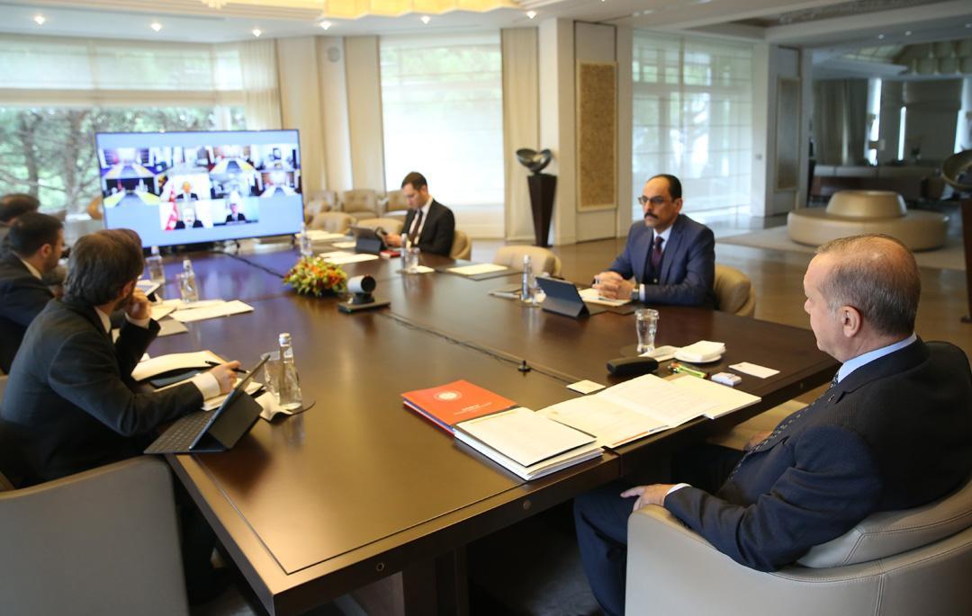 AK Parti MYK, video konferans ile toplandı