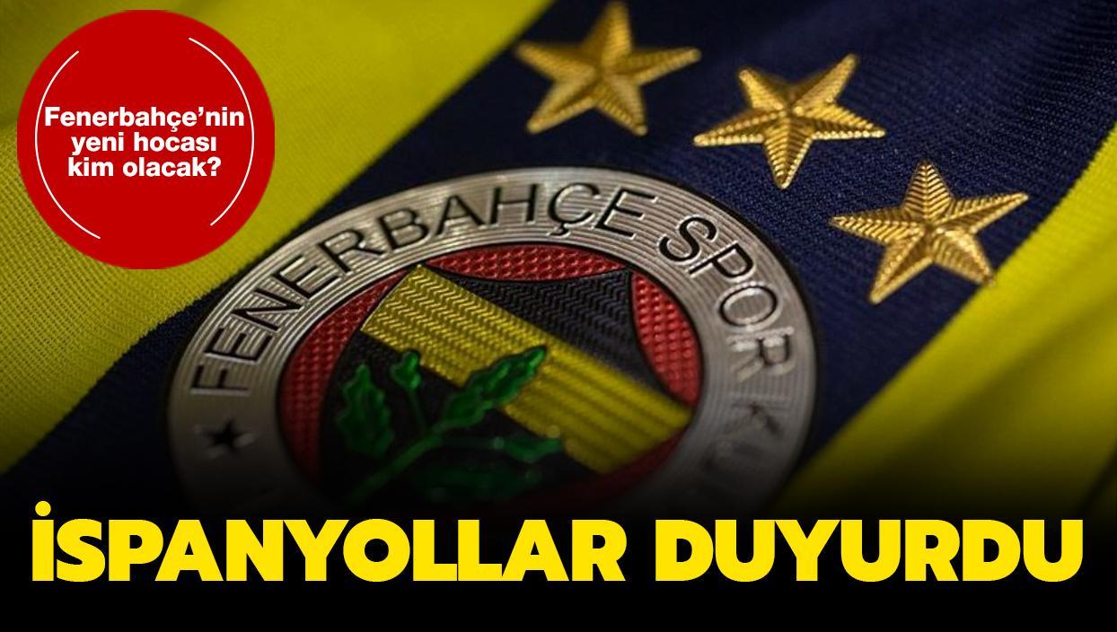 İspanyollar duyurdu: İşte Fenerbahçe'nin yeni hocası...