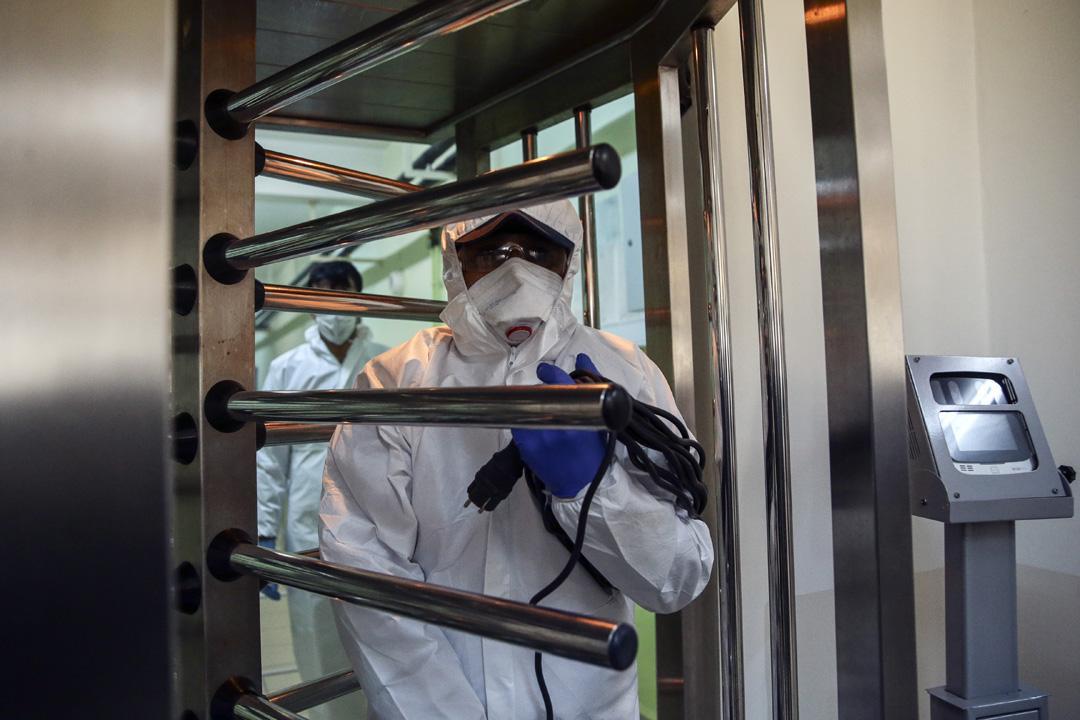 Maltepe Açık Ceza İnfaz Kurumunda Kovid-19 önlemleri sıklaştırıldı