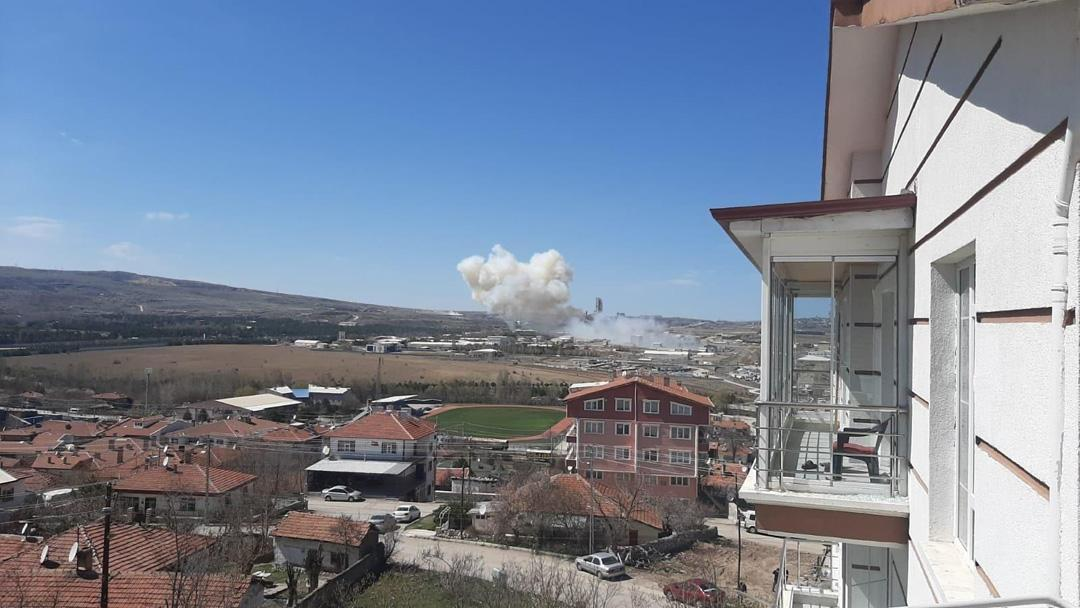 Roketsan'da patlama