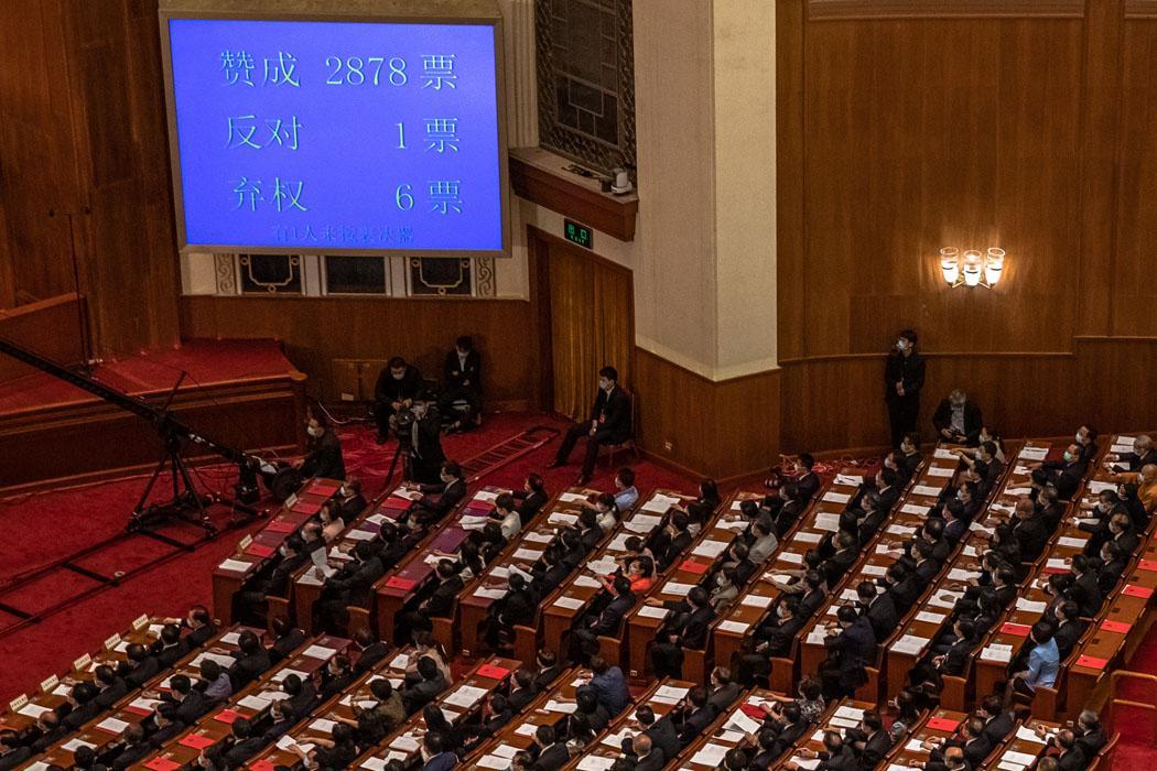 Çin Ulusal Halk Kongresi, Hong Kong'da uygulanacak Ulusal Güvenlik yasasını kabul etti