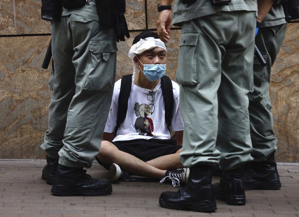 Hong Kong lideri: Ulusal Güvenlik Yasası çok küçük bir azınlığı cezalandıracak