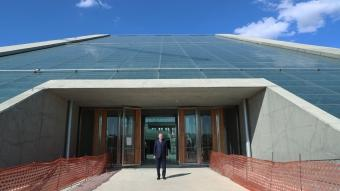 Cumhurbaşkanı Erdoğan, yeni orkestra binasında incelemelerde bulundu