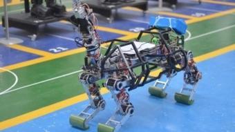 4 ayaklı robot insanlar için tehlikeli işlerde kullanılacak! Türkiye'de üretildi