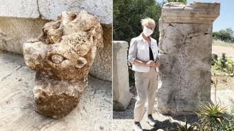 Patara'da heyecanlandıran keşif! Roma Senatörü Celer'e annesi Prokla'dan yazıt
