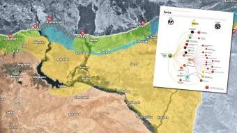 İletişim Başkanlığı paylaştı: Harita ve grafiklerle Suriye'de son durum