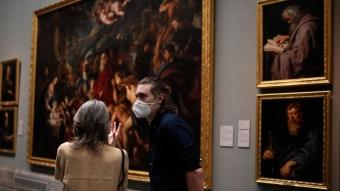İspanya'nın tanınmış müzeleri 84 gün sonra kapılarını açtı