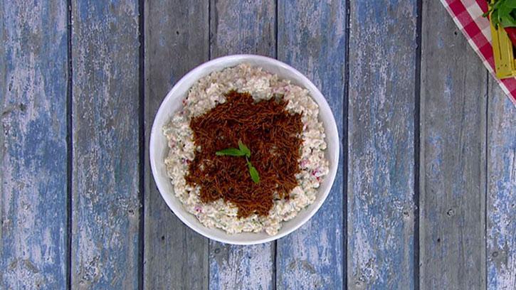 Buğdaylı Tavuklu Salata Nasıl Yapılır? #PratikMutfak