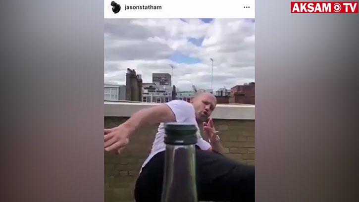 Jason Statham'dan Müthiş Hareket