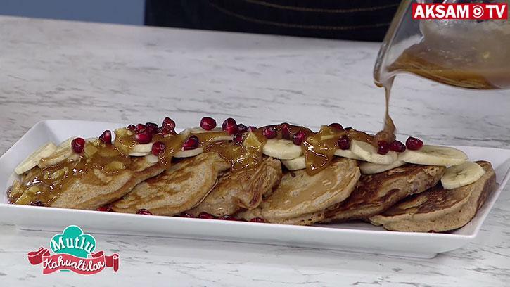 Sağlıklı ve Lezzetli Bir Kahvaltı: Şekersiz Pankek | #MutluKahvaltılar