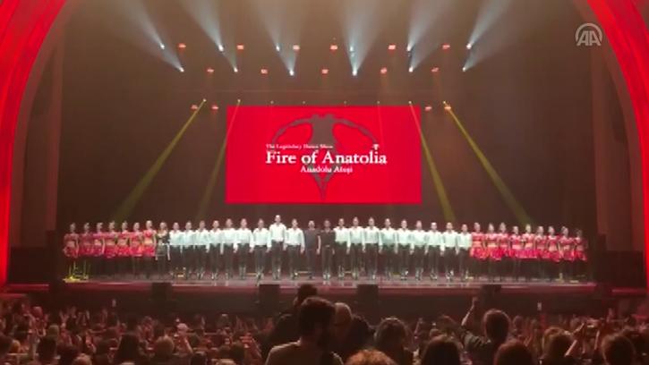'Anadolu Ateşi' Paris'te Yoğun İlgi Gördü