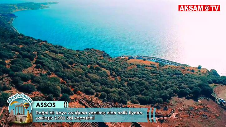 Tarihle İç İçe: Çanakkale Assos Antik Kenti