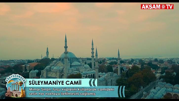 Mimar Sinan'ın Kıyamete Dek Baki Kalacağına İnandığı Camii: Süleymaniye Camii
