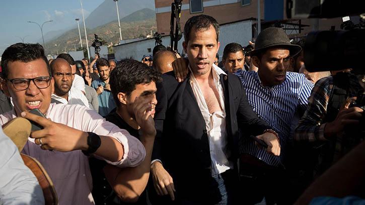 Guaido Ülkesinde 'Vatan Haini' Olarak Karşılandı