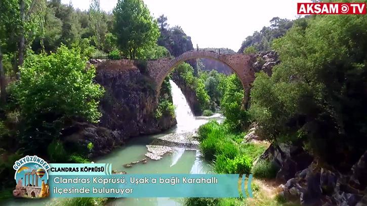 Tarihi Köprü: Clandras | #Gökyüzünden