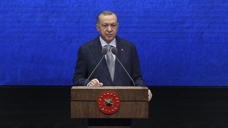 Başkan Erdoğan, '2019 Yılı Değerlendirme Toplantısı'nda Konuştu