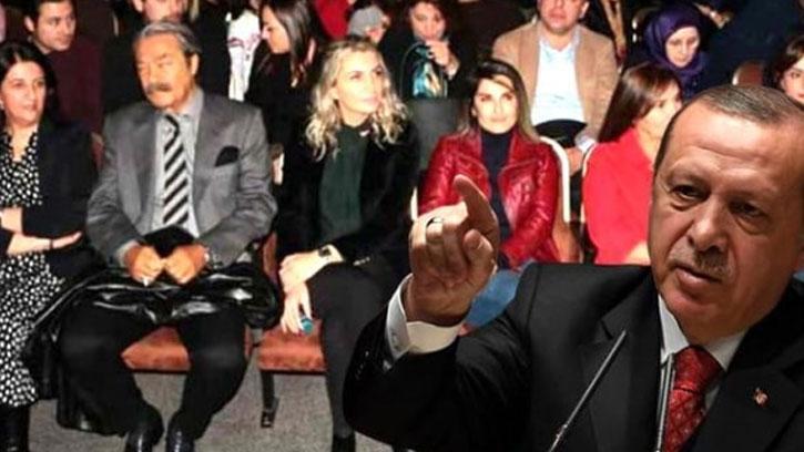 Başkan Erdoğan, Demirtaş'ın Kitabının Oyununu İzleyenlere Tepki Gösterdi