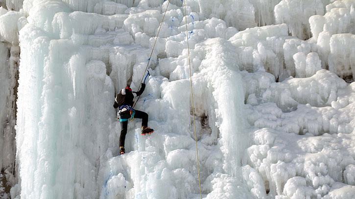 Türkiye Buz Tırmanış Şampiyonası Erzurum'da Başladı