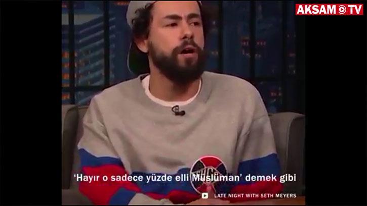 Komedyen Rami Youssef'ten Iılmlı Müslüman Tabirine Tepki