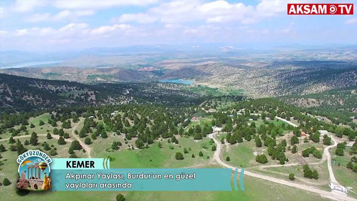 Burdur'a Bağlı Olan Kemer İlçesi, Yaylasının Güzelliği ile Dikkat Çekiyor