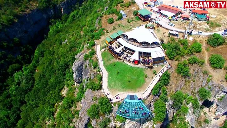 Türkiye'nin cam terası: Kristal Teras