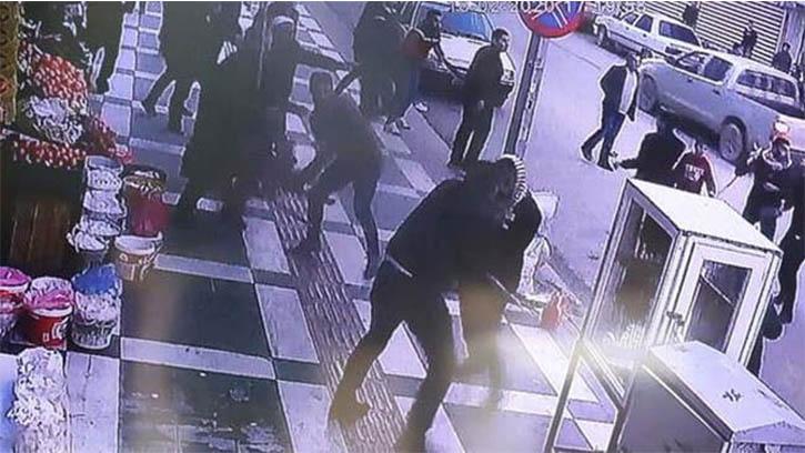 Viranşehir'de 1 Kişinin Öldüğü 13 Kişinin Yaralandığı Kavga Kamerada