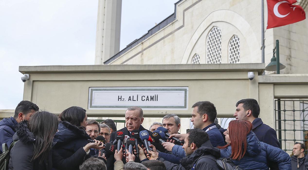 Başkan Erdoğan: Bir savaş var diyebilirim, Rusya görüşmesi işin seyrini belirleyecek