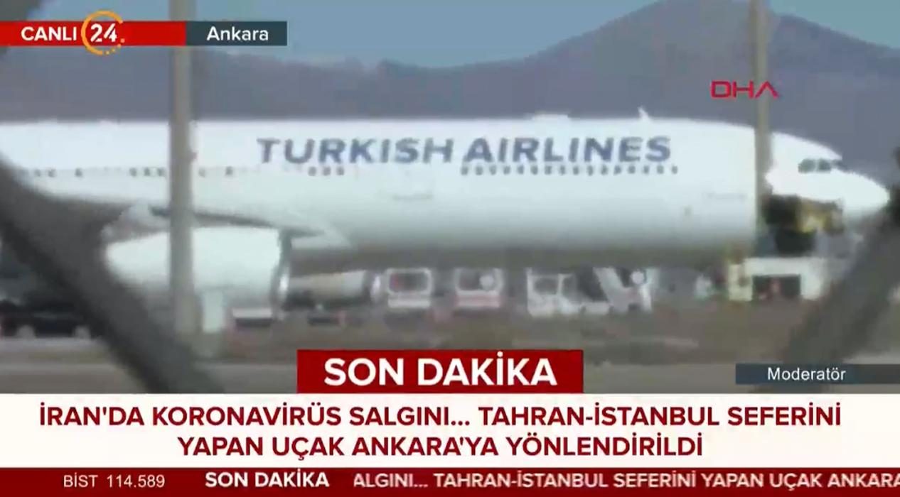 Ankara Esenboğa'da Koronavirüs Alarmı!