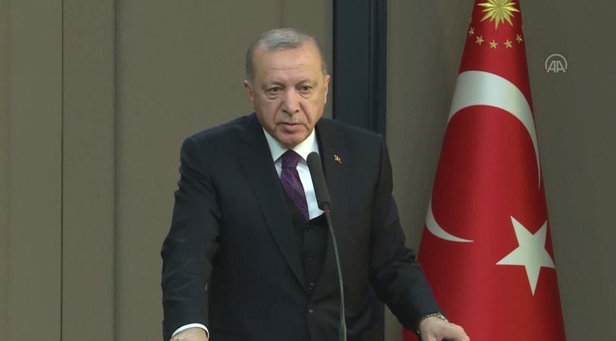 Başkan Erdoğan'dan koronavirüs salgınıyla ilgili açıklama