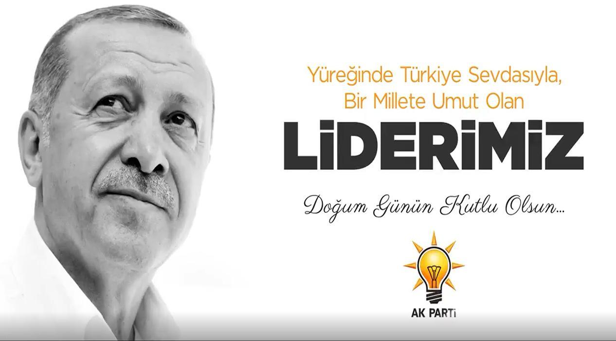 Başkan Erdoğan'a sürpriz doğum günü videosu
