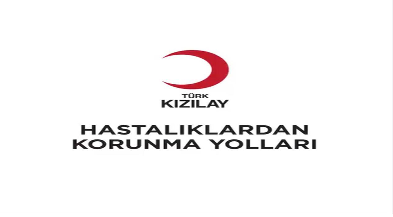 Türk Kızılayı hastalıklardan korunma yollarıyla ilgili bilgilendirici video yayınladı