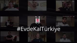 Beşiktaşlı sporculardan 'evde kal' çağrısı