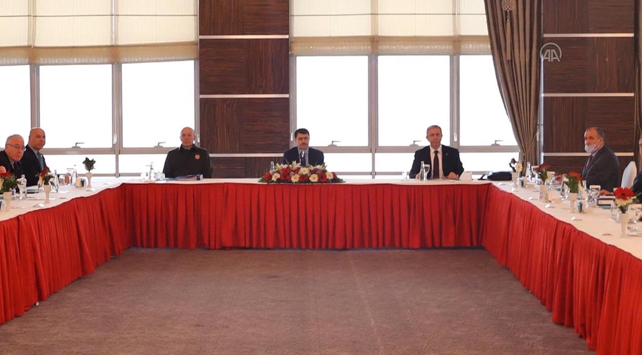 Vali Şahin Başkanlığında İl Pandemi Kurulu Koordinasyon toplantısı düzenlendi