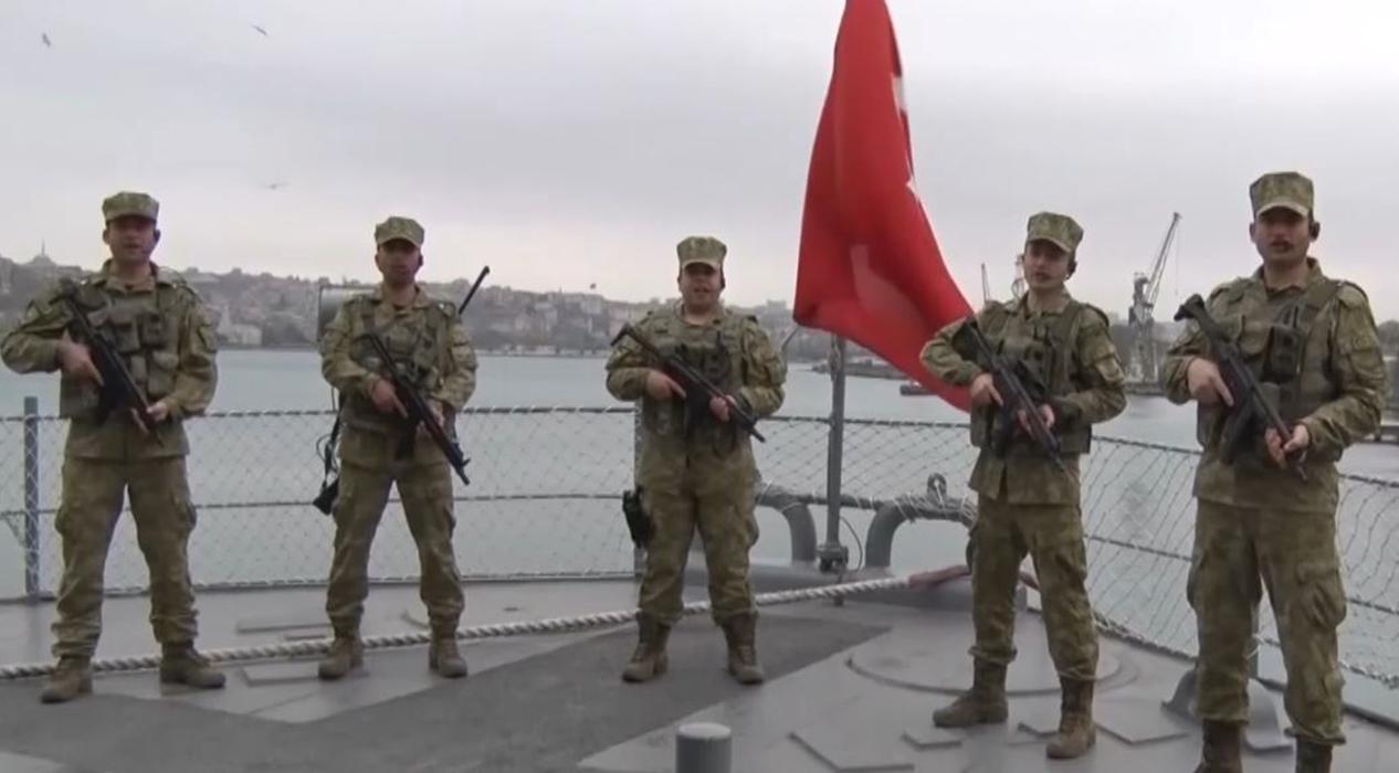 Kahraman Mehmetçik'ten 'Evde Kal' çağrısı