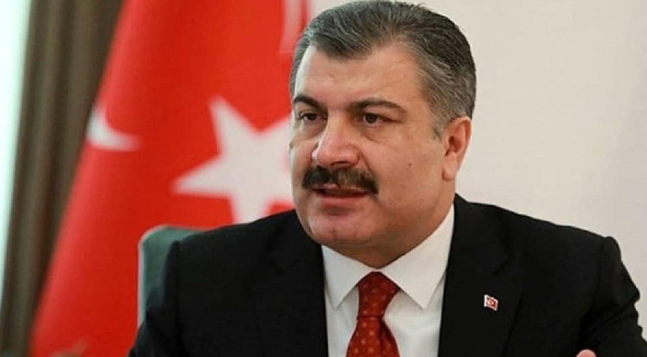 Sağlık Bakanı Koca: 'Sağ ol Türkiye'