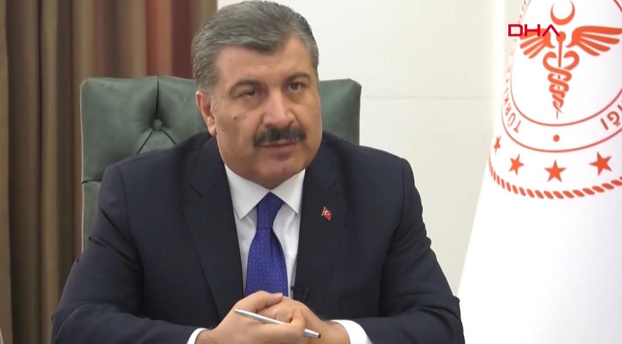Sağlık Bakanı Fahrettin Koca hekimlerle görüştü
