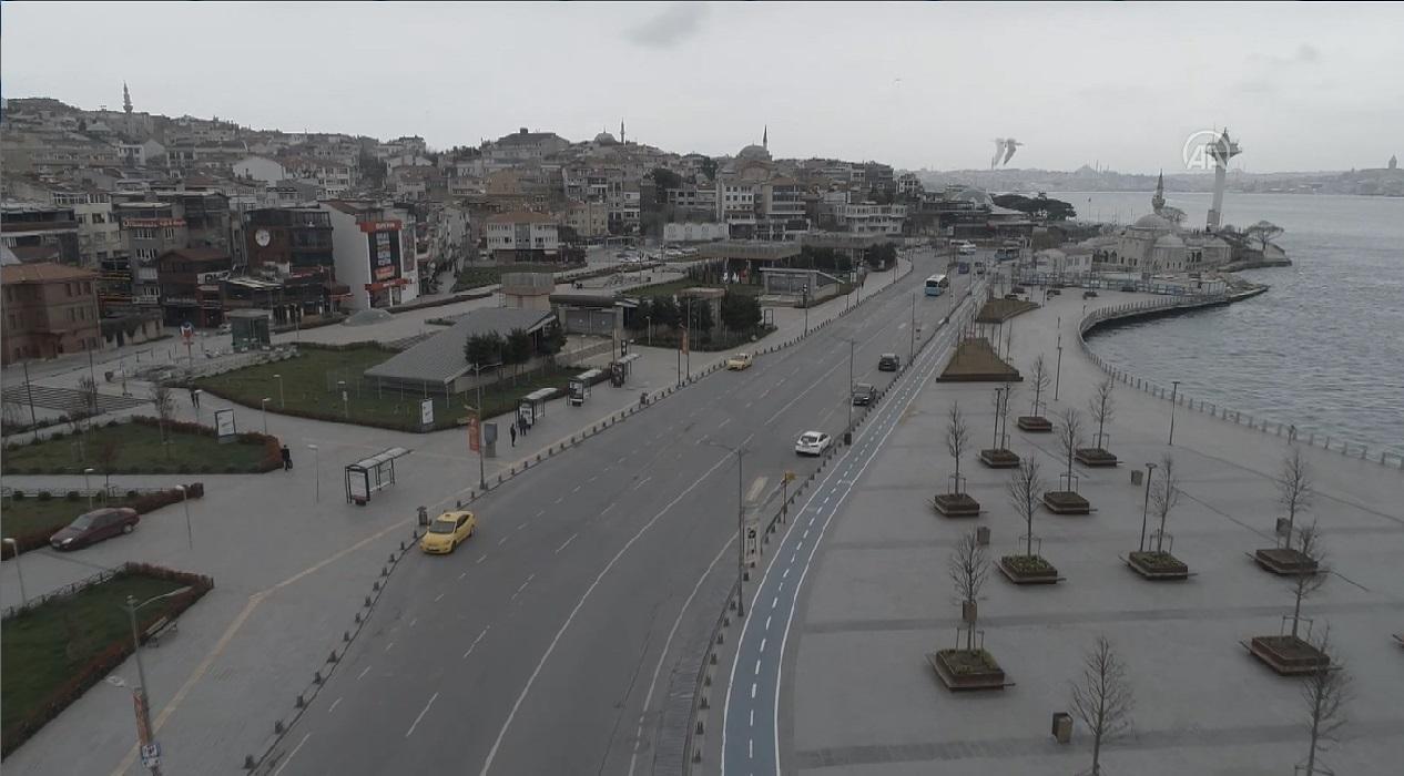 İstanbul 'evde kal' çağrısına uyuyor mu? İşte şehir meydanlarının son hali...