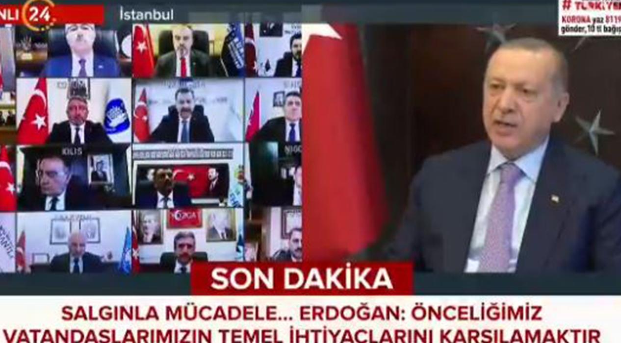 Başkan Erdoğan: Türkiye salgını yenecek!