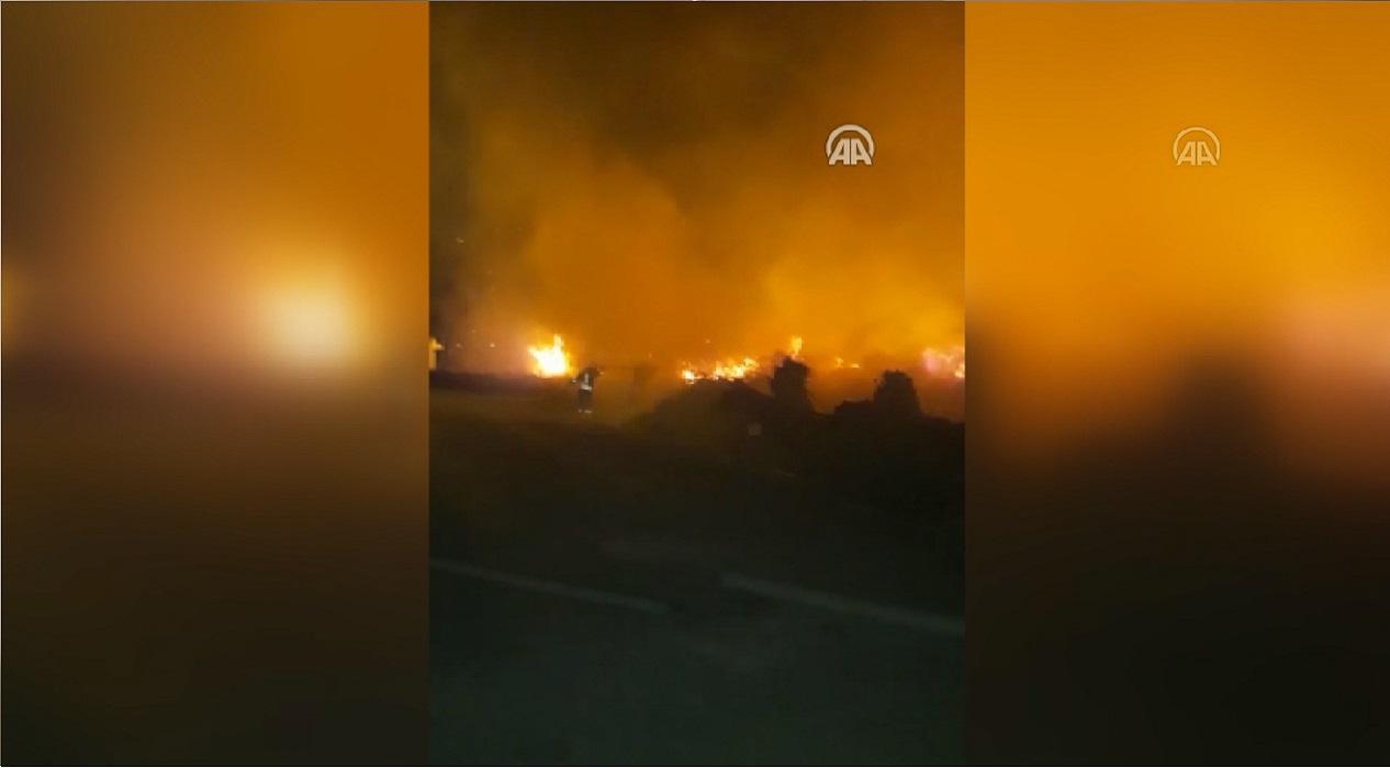 Fethiye ve Marmaris ormanları alev alev yandı!