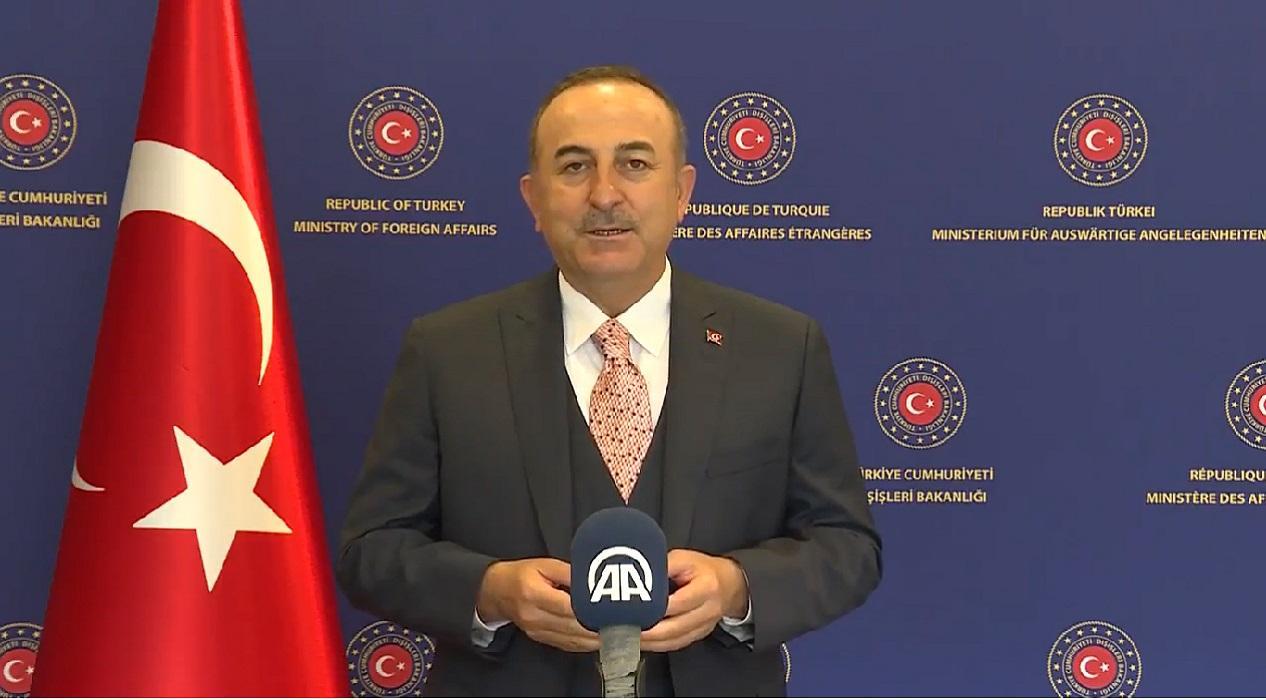 Dışişleri Bakanı Mevlüt Çavuşoğlu Anadolu Ajansı'nın 100. yılını kutladı